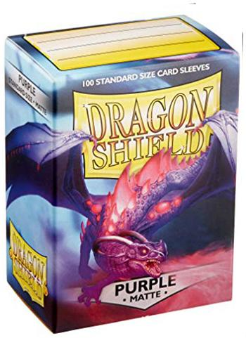 Dragon Shield Standard Mat Character Sleeves Purple (100 COUNT)