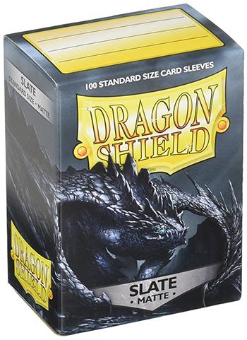 Dragon Shield Standard Mat Character Sleeves Slate (100 COUNT)