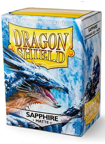 Dragon Shield Standard Mat Character Sleeves Sapphire (100 COUNT)