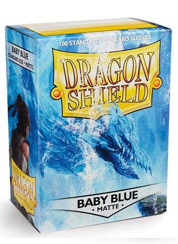 Dragon Shield Standard Mat Character Sleeves Baby Blue (100 COUNT)