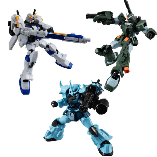 Mobile Suit Gundam G Frame Character Candy Toy A + F Bundle Vol.7
