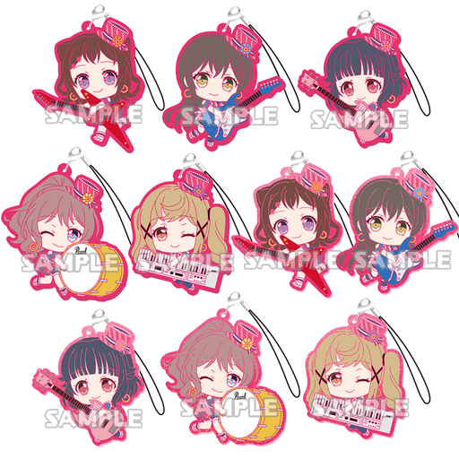 BanG Dream! - Poppin'Party - Character Rubber Mascot Strap Vol.2