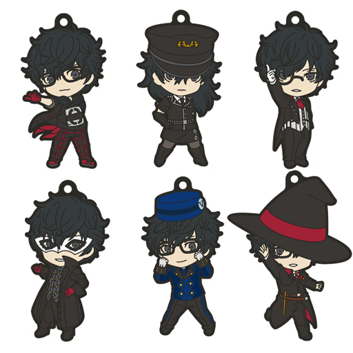 Persona 5 Dancing in Starlight - Protagonist - Nendoroid Plus Character Rubber Key Chain Mascot