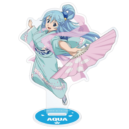 Konosuba Movie Cherry Blossom Watching Event Character Acrylic Stand