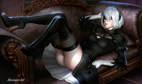 2017 Fanime 2B Nier: Automata Event-Exclusive Play Mat