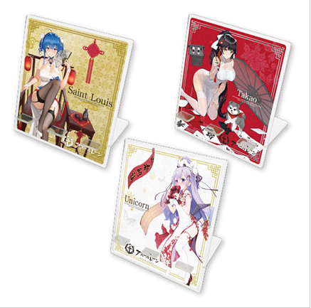 Azur Lane Characters - Acrylic Smart Phone Mobile Stand (Unicorn, Takao, Saint Louis)