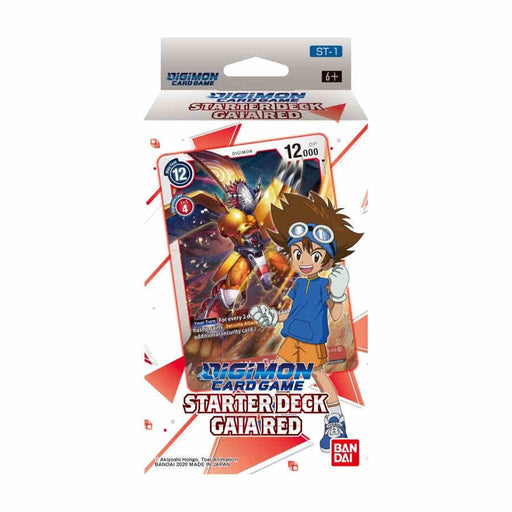Digimon Starter Deck Gaia Red Card Game (Pre-order) Jan 2021