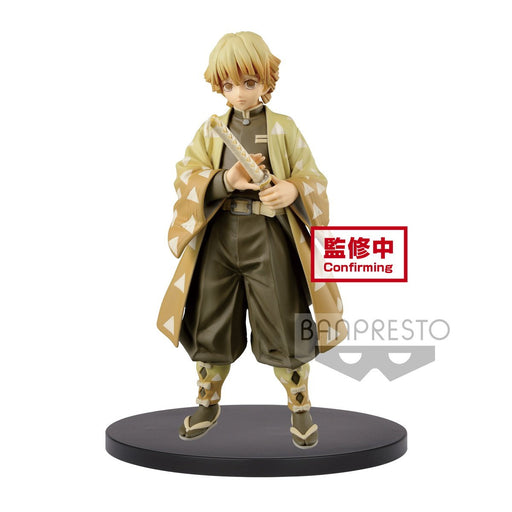 Demon Slayer: Kimetsu no Yaiba - A: Zenitsu Agatsuma - Banpresto Character Prize Figure Vol.4