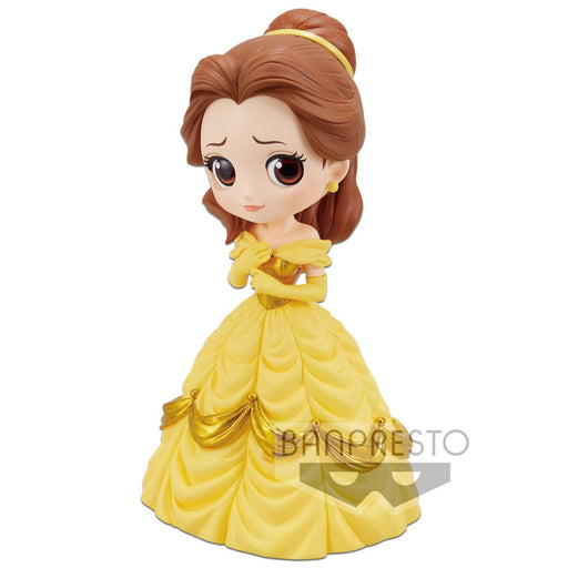 Disney Characters Q Posket Belle Normal Color Ver.A Character Prize Figure Banpresto