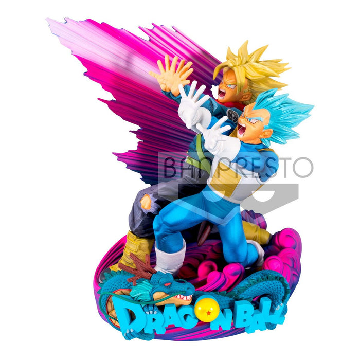 Dragon Ball Super Masters Stars Piece Vegeta and Trunks Prize Figure Brush V.