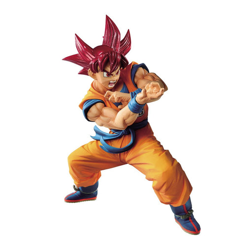 Dragon Ball Super Blood of Saiyans-Special VI SS God Goku - Character Prize Figure Nov 2019