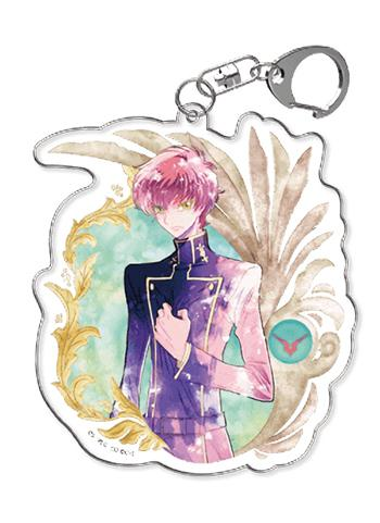 Code Geass Suzaku Cafe Exclusive Character Acrylic Key Chain