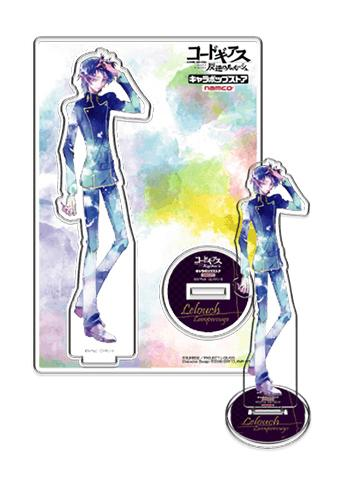 Code Geass Lelouch Cafe Exclusive Character Acrylic Stand
