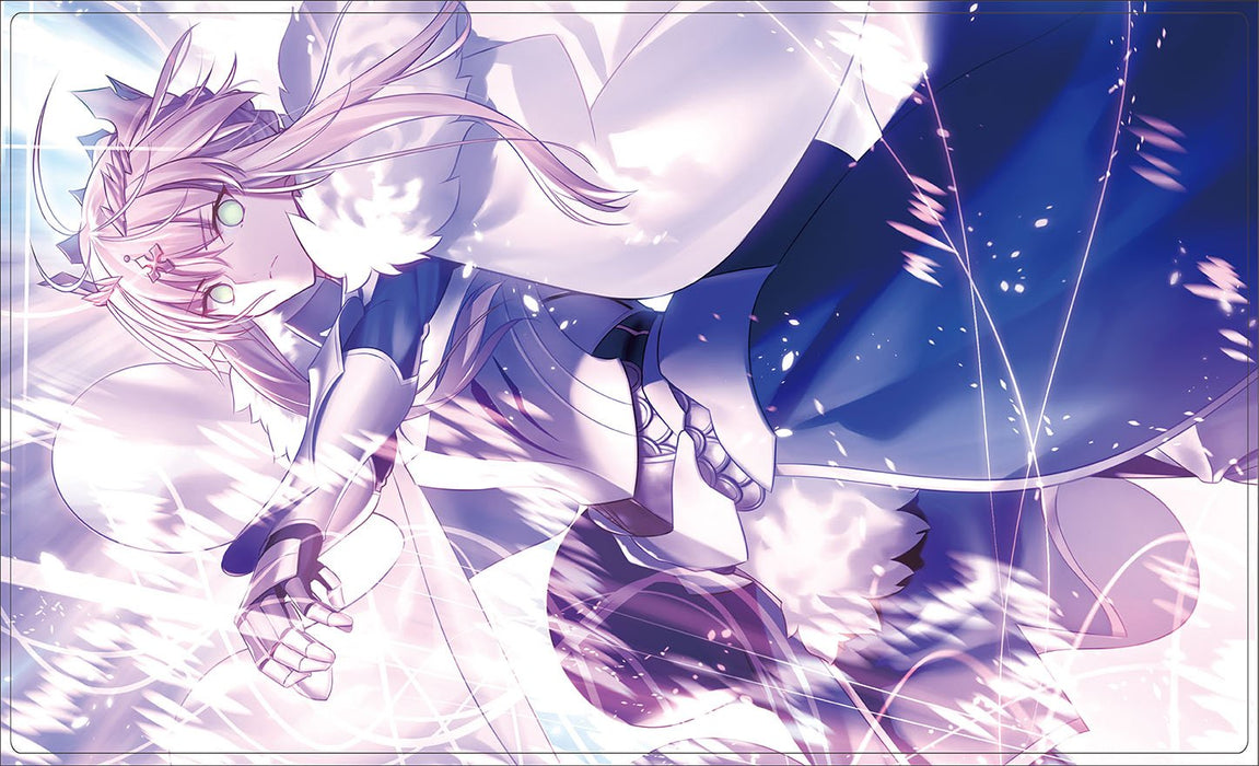 Doujin Fate Grand Order Altria Pendragon Lancer - Character Rubber Play Mat FGO