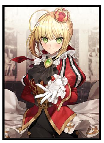 Doujin Fate Grand Order Crimson Noble Nero - Character Sleeves