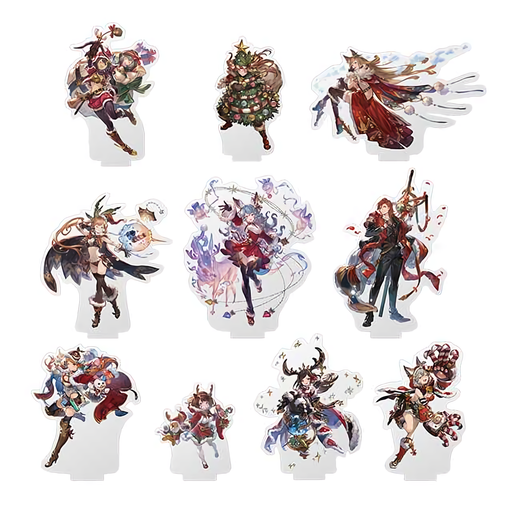 Granblue Fantasy Fes 2019 - Christmas Character Acrylic Stand