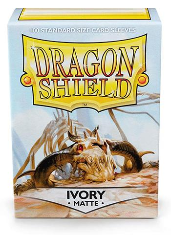 Dragon Shield Standard Mat Character Sleeves Ivory (100 COUNT)