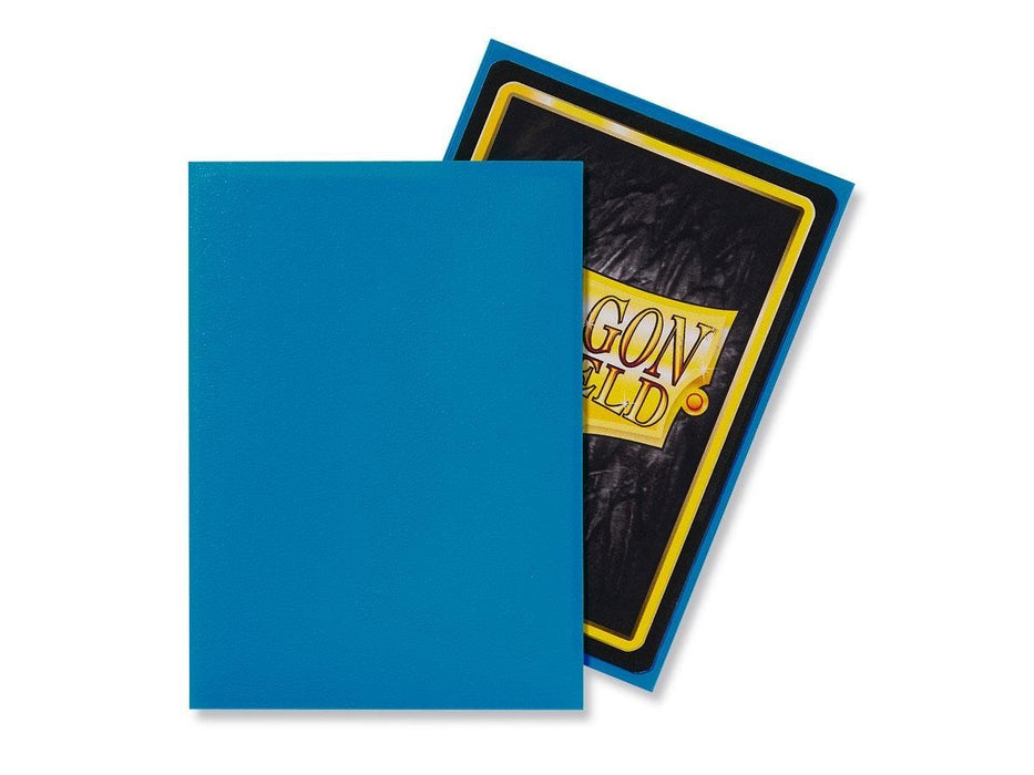 Dragon Shield Standard Mat Character Sleeves Sky Blue (100 COUNT)