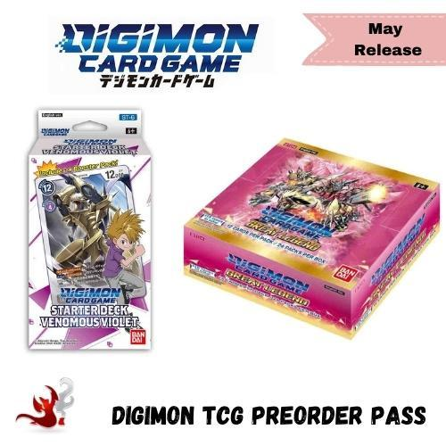 Digimon TCG Great Legend May 2021 Release Preorder Pass
