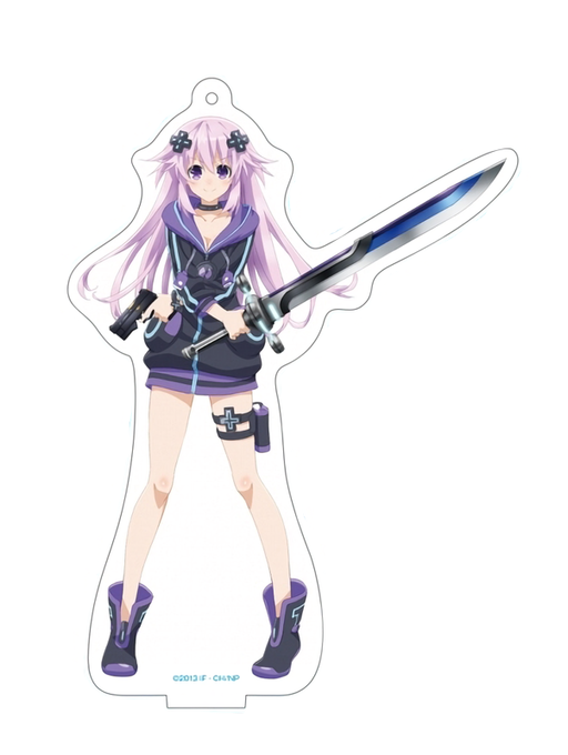 C96 Hyperdimension Neptunia The Animation: Nep Summer 2019. Ver. - Dimension Traveler Neptune Ver.B - Character Acrylic Stand
