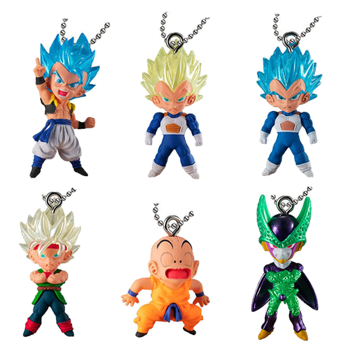 Dragon Ball - UDM The Best 32 - Character Capsule Mascot Swing Key Chain