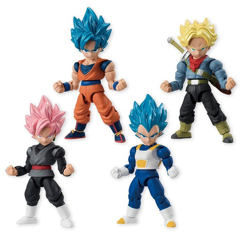 Dragon Ball Super 66 Action Dash Super Saiyan Mini Action Toy Figure **Box 10PCS**
