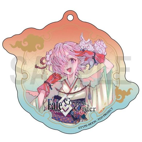 Fate Grand Order Shielder Mash Kyrielight Japan's Style Acrylic Key Holder FGO