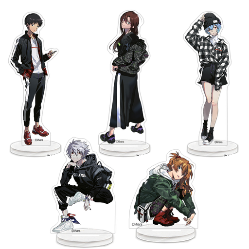 Radio Eva Fashion Evangelion Store - Limited Character Acrylic Stand