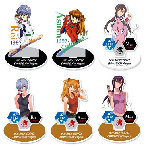 Evangelion × UCC - Event Exclusive Character Memo Acrylic Stand