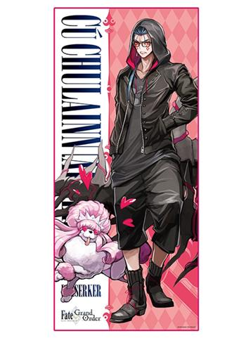 Fate/Grand Order × Lawson Berserker Cu Chulainn Alter - Exclusive Character Towel FGO