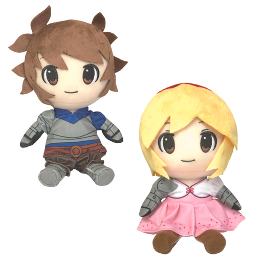Granblue Fantasy Fes 2019 - Gran and Djeeta - Character Plush