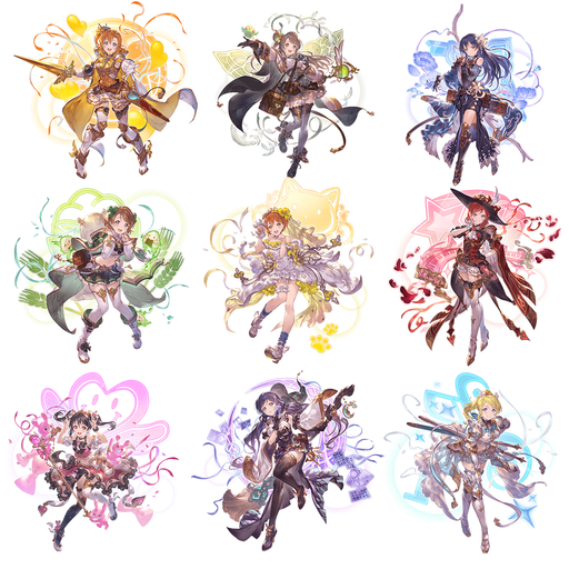 Granblue Fantasy Fes 2019 x Love Live Muse - Character Acrylic Stand