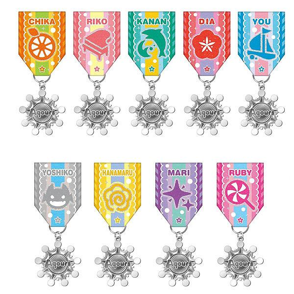 Love Live! Sunshine!! - Aqours - Medal Collection (Set 9pcs)