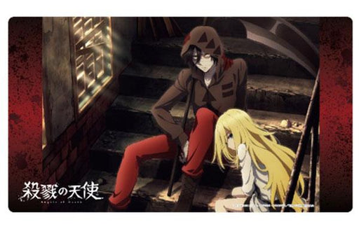 Angels of Death B - Issac & Rachel - Character Rubber Play Mat Vol.28