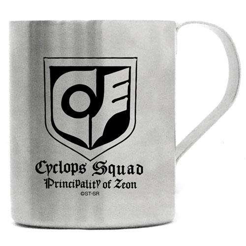 Mobile Suit Gundam 0080: War in the Pocket  - Cyclops - Character Tin Mug Cup Cospa
