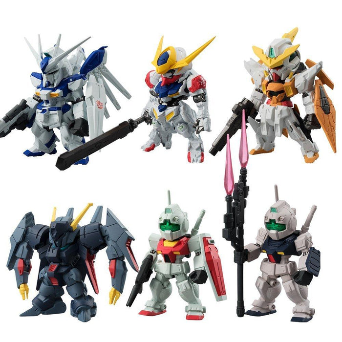 Mobile Suit Gundam Converge #5 Candy Toy Mini Figure *Set of 6*