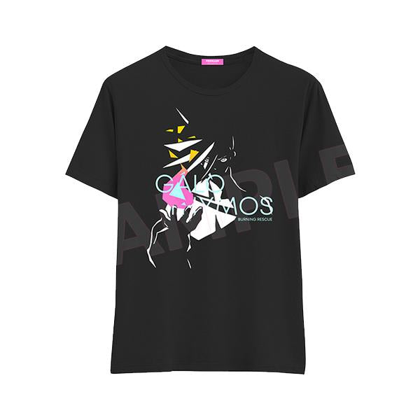 Promare - Galo Thymos - Limited Character Cotton T-shirt Black