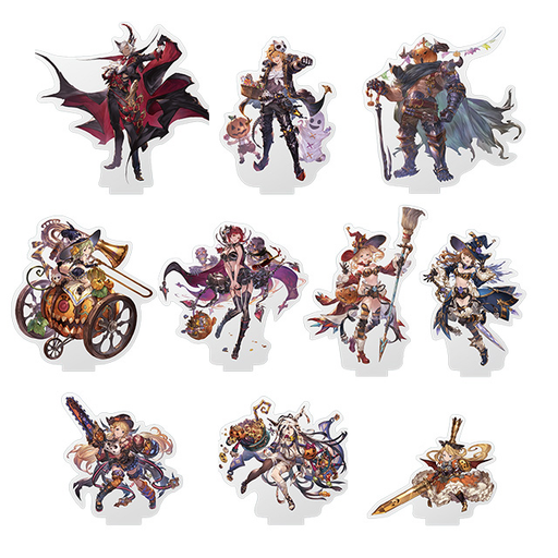 Granblue Fantasy Fes 2019 - Halloween Character Acrylic Stand