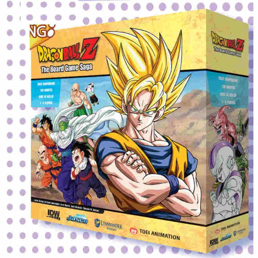 Dragon Ball Z: The Board Game Saga (Pre-order) Feb 2021