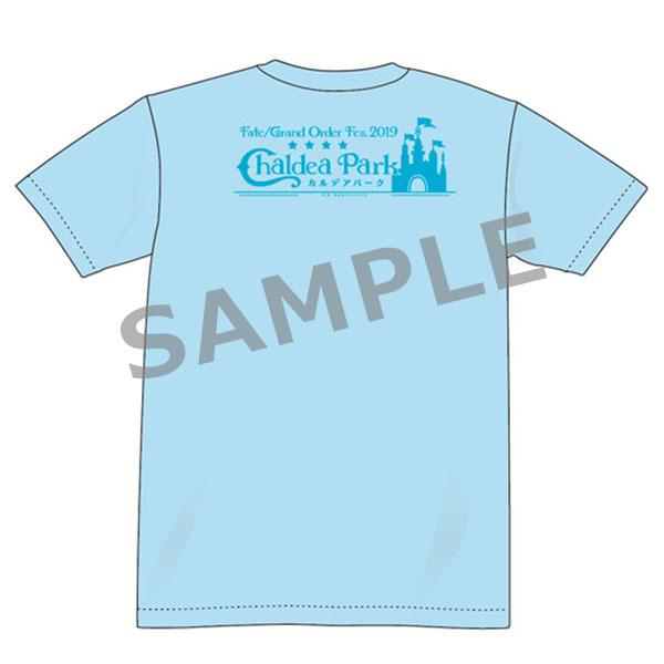 Fate Grand Order Fes 2019 FGO Official Character T-Shirt A Blue