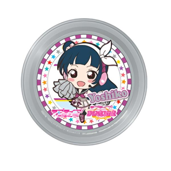 Love Live Sunshine!! Collab Cafe Exclusive Coaster (Cheerleader Ver.)