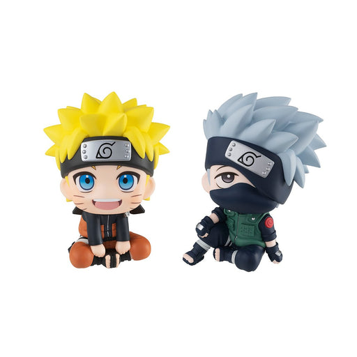 Naruto Shippuden - Uzumaki Naruto & Hatake Kakashi Set [with Gift] Look Up Series - Mini Figure (Pre-order) Jan 2021