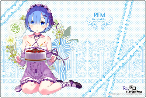 Re:Zero Starting Life in Another World - Rem Birthday Play Mat (Creator's Ver.)