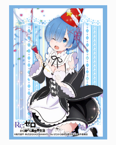 Re:Zero Starting Life in Another World - Rem Birthday Sleeves (Anime ver.)