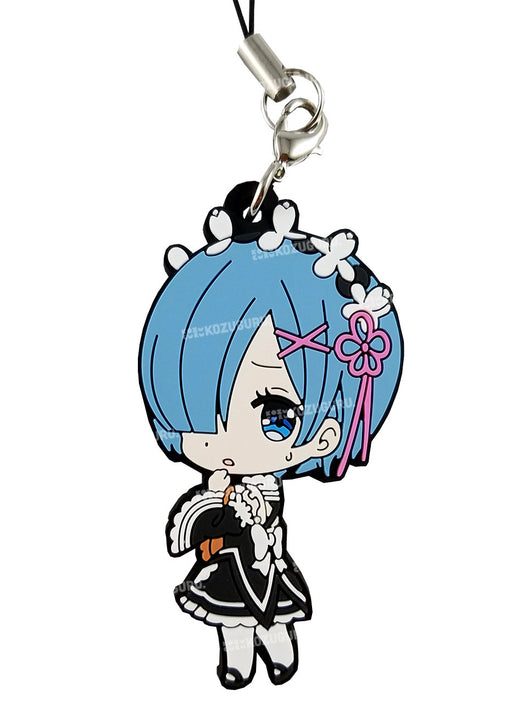 Re:Zero - Rem Contempt - Capsule Rubber Strap