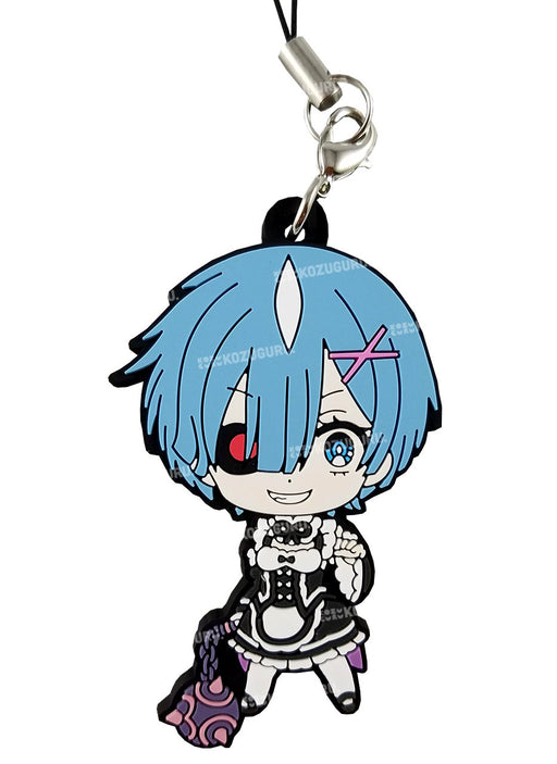 Re:Zero - Rem Demonic - Capsule Rubber Strap