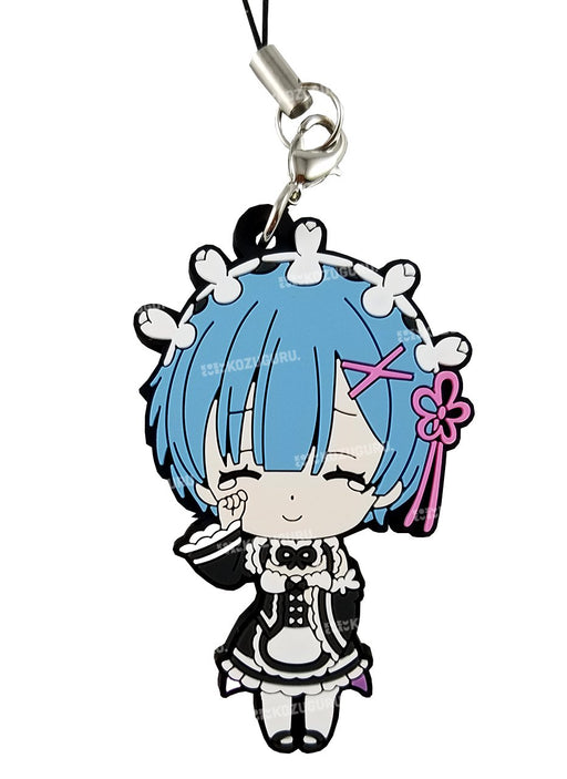 Re:Zero - Rem Teary Smile - Capsule Rubber Strap
