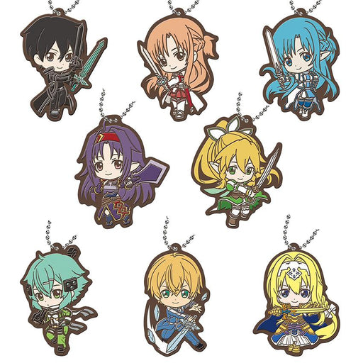 All key chain variants from Sword Art Online