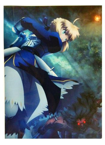 UFOTable Cafe Fate/stay night: Heaven's Feel Battle Saber vs Berserker Tapestry Action Visual A3