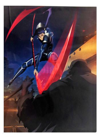 UFOTable Cafe Fate/stay night: Heaven's Feel Battle Lancer vs Assassin Tapestry Action Visual A3